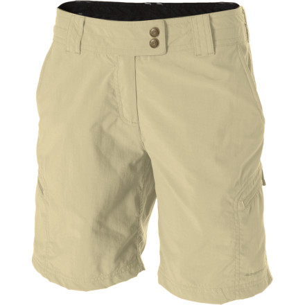 Climbing Whether you're a local, national, or international wanderer, there's nothing you will love more during those adventures than a well-fitting, comfortable short; the ExOfficio Women's Nomad Short, to be precise. - $54.95