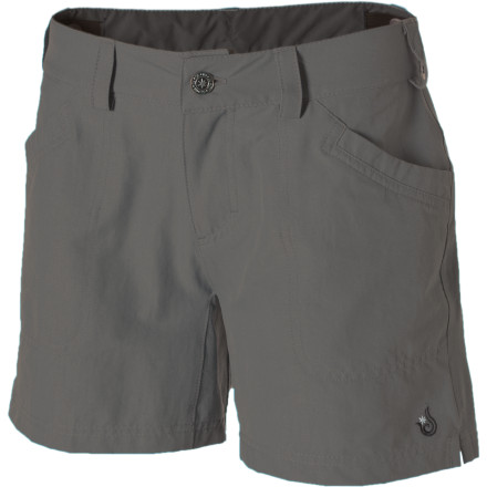 Climbing The Isis Women's Rim Rock Shorts keep you covered and cool so you won't overheat while you're exploring red-rock deserts or backpacking in the summer heat. - $29.48
