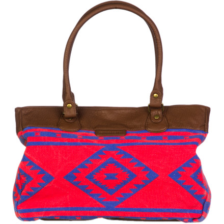 Surf Whether you have a long commute to work or school, count on the Billabong Muy Bueno Tote to carry all of your essentials'and then some. - $42.03