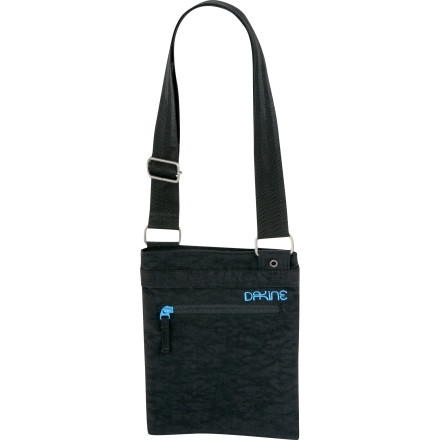Entertainment Super adorable, super portable, and well, just superthe DAKINE Jive Shoulder Bag goes where both a wallet and purse can't and can be be adjust to hang loose or stay close at hand. - $15.00