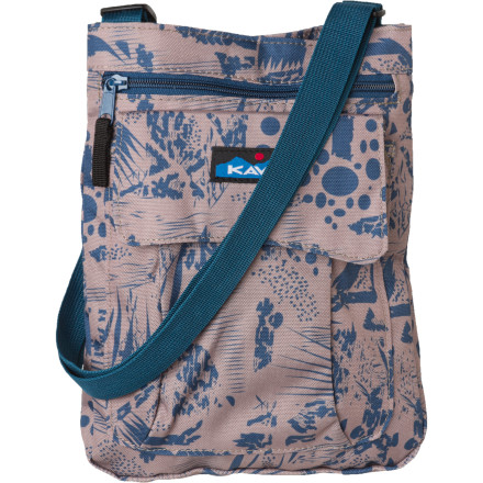 Entertainment The Kavu Women's For Keeps Purse has plenty of room for your lunch, water bottle, wallet, and other everyday essentials. - $19.17