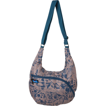 Entertainment Forget dumping out the contents of your purse to find your cell ... you have the Kavu Women's Singapore Satchel. Multiple internal and external pockets keep you organized so you don't have to display your personal items to the world. - $22.77