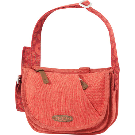 Entertainment Shaped like a messenger bag but sized like a purse, the KEEN Women's Montclair Wool Mini Bag houses your summer necessities as you cruise the booths at the farmers' market or check out the sights of a foreign city. Soft textured wool and polyester fabric and woven leaf design add a nice summery style to your stroll, and the convertible shoulder strap lets you wear the Mini across your body during bike rides. - $32.47