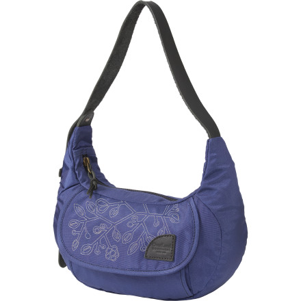 Entertainment Stash your everyday essentials in the Overland Equipment Avery Purse and bathe in the onslaught of compliments. Its stylish, elegant look, multiple organizational compartments, and leather shoulder strap have ladies doing double-takes and giving you approving glances. - $69.95