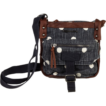 Entertainment Exuding summer fun and casual-cool, the Roxy Women's Admiral 2 Purse sits crossbody for hands-free frolicking. And a handy-dandy exterior zip pocket lets you grab frequent-access items without opening purse. Easy as a summer breeze. - $37.40