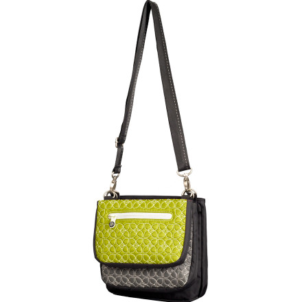 Entertainment Instead of packing three separate purses in your carry-on, take the Sherpani Women's Trio LE 3-in-1 Cross Body Bag. Its chic, unconventional design gives you three separate purses that can be worn all together or each individually. - $59.95