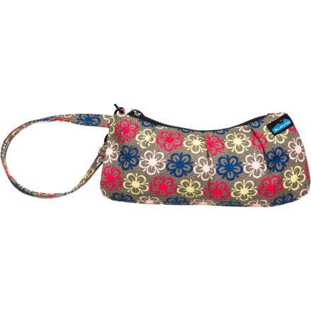 Entertainment Keep your small necessities close with the Kavu Kennedy Clutch Purse. This handy little bag holds your keys, phone, wallet or even a point-and-shoot camera when you're traveling light, or helps organize larger totes or purses. - $11.97