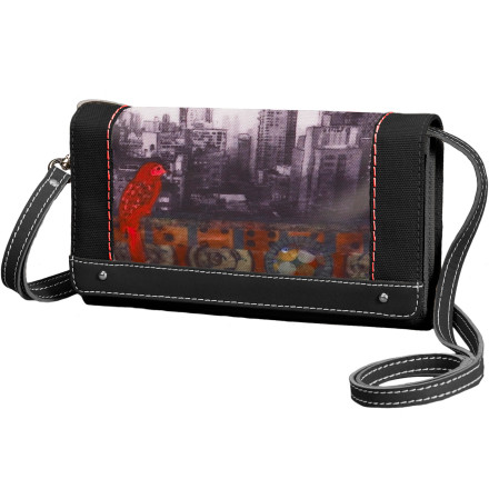 Entertainment Thanks to its feminine details, nature-inspired graphics, and stellar design, the Sherpani Women's Raven Wallet has you ready to hit the town and make it rain. - $30.52