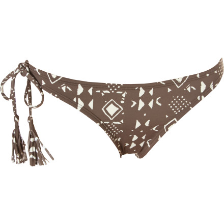 Surf It isn't officially summer until you've slipped into your Quiksilver Tribal Bondi Side Tie Bikini Bottoms. These tiny bottoms mean you can show off your sexy while you soak in the sun. - $24.00