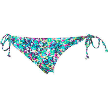 Surf Match the Reef Floralicious Bikini Bottom and its sweet tie sides with either a solid bikini top or Reef's Floralicious halter. - $15.48