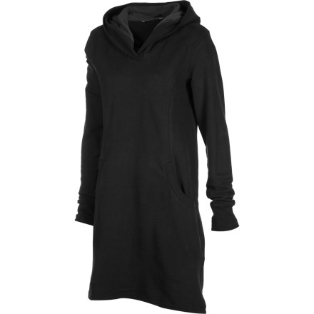 Entertainment Out of your work clothes and into the Horny Toad Dresspass Hooded Dress. This dress matches with tights and boots for dinner with friends, and it also goes with your cozy fleece leggings and slippers for a relaxed movie-on-the-couch date-night with your boyfriend. - $68.57