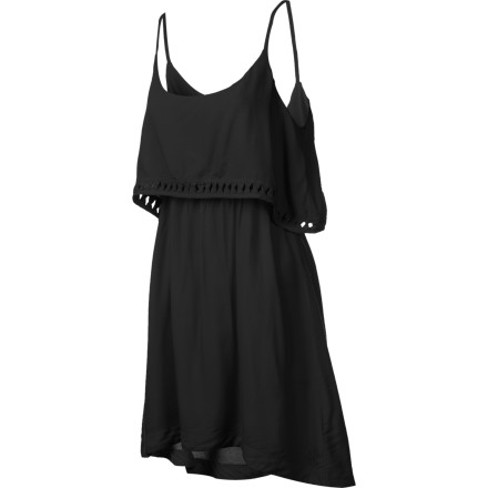 Entertainment The Hurley Indie Dress mixes 1920s glamor with a modern silhouette that will show off your body is just the right ways. Slip into this dress when you want a fun yet sophisticated look that is great for art gallery openings and cocktail parties. - $22.48