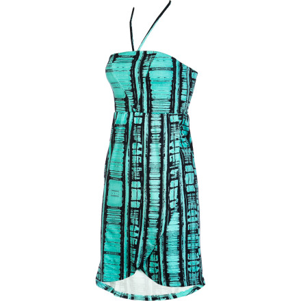 Entertainment Whether you wear the Hurley Women's Undertow Dress over a bikini at the beach or by itself to a Cancun club, this dress dishes out summery sexiness with a light, breezy feel. This dress is a must for tropical vacations or even just weekend bonfires at the lake. - $35.51