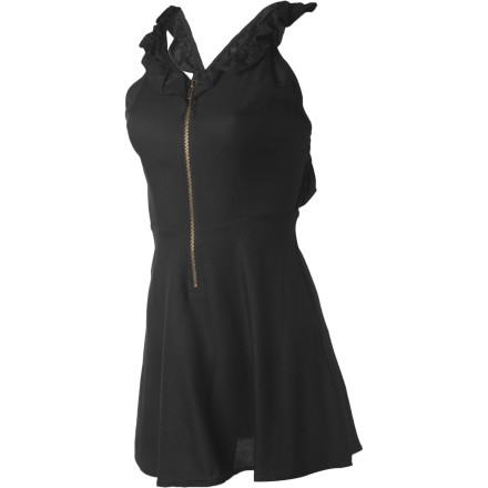 Entertainment The Nikita Women's Cabarita Dress takes the simplicity of a ruffled dress and adds a little bit of an edge. Wear this dress to gallery openings or events when you want an understated look that still lets your personality show through. - $35.98
