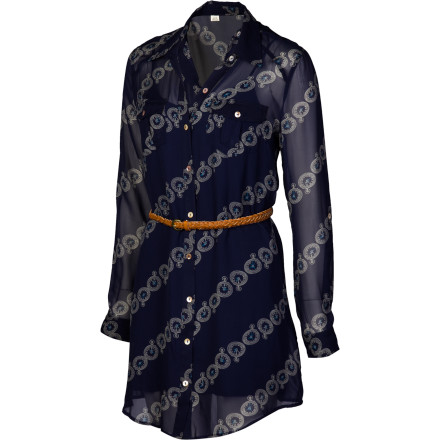 Entertainment Wear the Quiksilver Women's Times Square Dress and command the room's attention when you help auction off your artist friend's sketches for a good cause. - $59.00