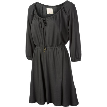 Entertainment The Quiksilver Women's Ashland Dress leaves you feeling breezy and breathtaking at housewarming parties and birthday celebrations. - $28.93