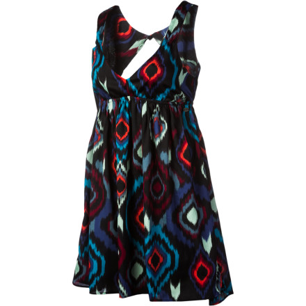Entertainment Toss on the Roxy Women's Love Seeker Dress when you have a cocktail party, art gallery stroll, or date to attend. - $37.13