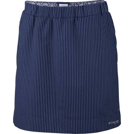 Slip into your Columbia Clear Coasts Women's Skirt when you want the cool, summery feel that matches the season. This skirt will keep you feeling cool and looking fresh when you head to after-work barbeques or weekend picnics at the park. - $19.98