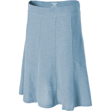 Ditch your shorts for the Horny Toad Women's Channel Skirt. Its A-line silhouette complements your curves, while its 21-inch length gives you a laid-back look when you play with your niece at the park. A wide elastic waistband lends a secure fit, while the Channel's ten-gore design has cross-cut seam details for a flowy, non-bulky look. - $28.98