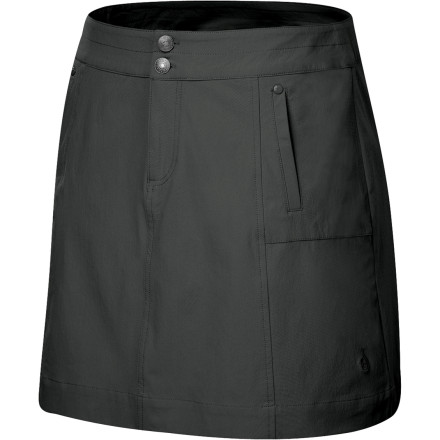 Whether you're navigating your way around Latin American roads, touring ancient ruins, or taking in the city sights, rely on the Isis Women's Jillaroo Skirt to provide superb travel comfort. Tightly woven nylon yarns are wind-, water-, and wrinkle-resistant so you stay well-protected throughout your adventures. Lightweight, soft fabric drapes comfortably on your body, while stretchy fabric provides unrestricted mobility when you dash flag down a taxi. - $34.48