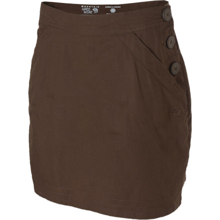 Camp and Hike Jump into your Mountain Hardwear Women's Sandhills Skirt when you want a look that is both rugged and feminine. This skirt will keep you feeling good whether you are hiking with your friends or finishing off your second beer at the art festival. - $32.48