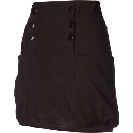 Snowboard Take a break from your snowboard wear and toss on the Nikita Women's Cline Skirt. Its hip design and fit will get you escorted to the front of the line and into the bar. - $29.21