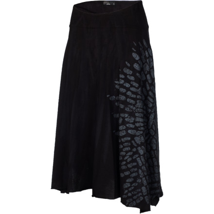 The prAna Sublime Skirt evokes feelings of walking through wildflowers and dancing with abandon. Even if you're stuck at work, all you have to do is step away from your computer, twirl around a few times, and let this free-flowing skirt transport you to a sunny, work-free woodland meadow. - $38.97