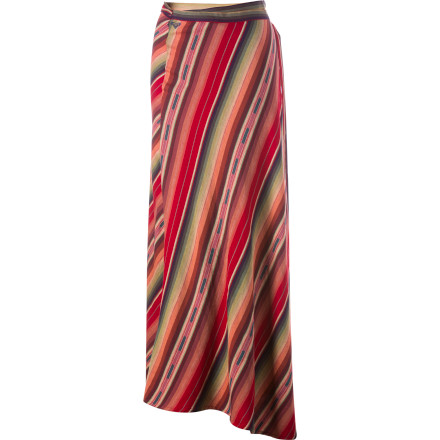 Surf Wrap your legs in the Roxy Mellow Mystique Skirt and slip off your shoes. The bonfire is burning on the beach, and someone, somewhere, is playing a guitar. All you have to do is close your eyes, move your feet to the beat, and work this skirt to the music. - $35.70