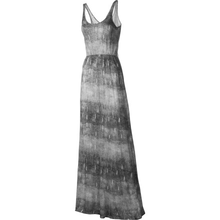 Entertainment The elegantly draped cut, high waist, and deep-cut of the DC Women's Camanche Maxi Dress let you show off a sculpted upper body but still have modest coverage suitable for a casual night out. - $30.00