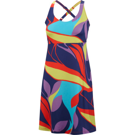 Entertainment With an internal bra and stretchy, quick-drying fabric, the Columbia Women's Sundancer Dress suits the walk to and from the beach or the lounging at an afternoon outdoor concert. - $32.48