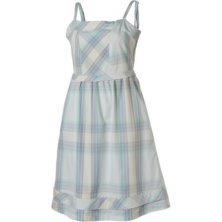 Entertainment If most of your friends are used to seeing you in rugged-looking jeans, throw them off with the Lol Women's Overjoy Dress. This lightweight, low-key summer dress lets your personality shine thanks to its plaid fabric. It also ensures that everyone knows you have no problem stepping it up a notch in terms of fashion. - $37.48
