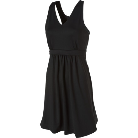 Fitness Wow 'em at your next yoga class or running group rendezvous when you show up in the Skirt Sports Serendipity Dress. This dress works wonderfully over running briefs, shorts, or capris, and it looks fabulous while it's at it. - $32.48