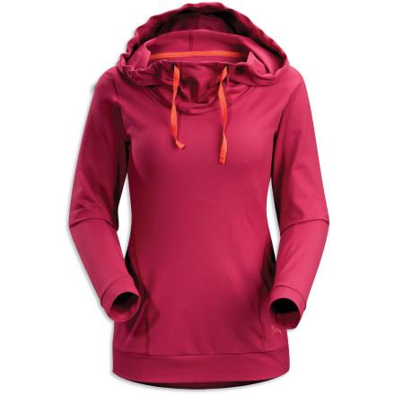 Causal styling is the design-focus, but it's the sporty blend of polyester and stretchy spandex that makes the Arc'teryx Women's Corbela Hoodie so comfortable and, in turn, so incredibly versatile. - $98.95