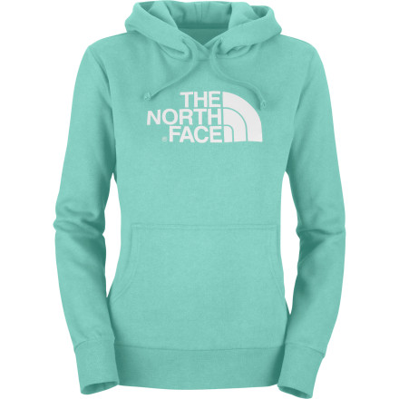 Ski The North Face Half Dome Pullover Sweatshirt will be your go-to when it comes to comfort on a cold Saturday afternoon. Sure, you could have gone skiing, for a bike ride, or even just a quick jog around the lake, but today feels more like a lay-around-in-your-Half-Dome-Hoodie-drinking-coffee-day. The warm, soft interior of the Half Dome Hooded Sweatshirt just adds to the coziness when laying around the house on a cold winter afternoon. - $31.47
