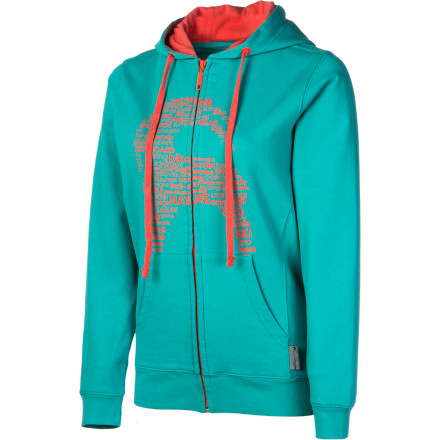 Mountain, river, or crag, the Backcountry.com Women's Home Base Full-Zip Hoodie would rather call any one of these places home before settling down in the city. Some souls need to leave the herd, feel fresh air in their lungs, and charge into the wild. Take the Home Base Hoodie with you on your journeysit was made for wandering just as much as for cozy warmth. - $56.98