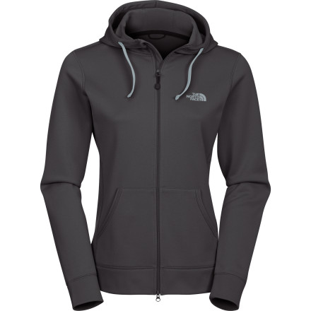 When The North Face Women's Fave-Our-Ite Full-Zip Hooded Sweatshirt moves in, don't be surprised if your other hoodies get nervous. This sweatshirt feels super soft and has an anti-pilling body that ups its lifespan. - $45.47