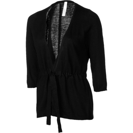Entertainment The Aventura Women's Tandy Cardigan ends your quest for a chic, warm sweater to wear at work or while you travel. - $39.57