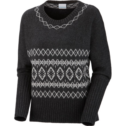 Uncork a bottle of your favorite red, slip into your Columbia Women's Winter Worn Dolman Sweater, and curl up by the fire. This smart, sweater gives you comfy feel you crave and the clean, casual look you'll need when your friends stop by and drag you away from your fireside seclusion and out for dinner. - $47.97