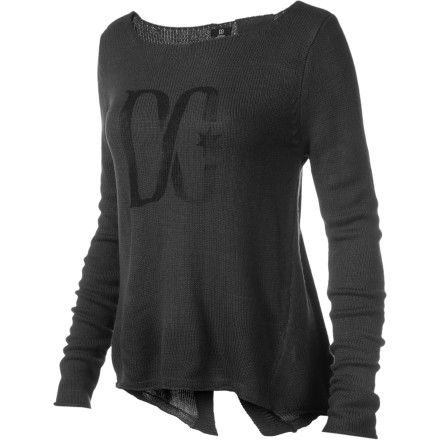 Thanks to the comfort of the DC Women's Calamity Sweater, you're able to keep your head together when the line of peeps reaches out the coffee shop door. - $34.80