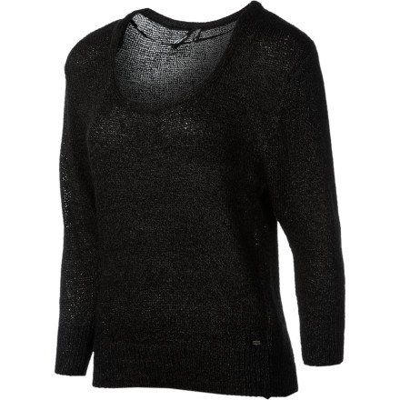 Surf The O'Neill Women's Denver Sweater gives you a look that is relaxed yet sophisticated so it's great for sitting on a restaurant patio, sipping red wine, and pondering the question of why everyone can't look as good as you do. - $34.62