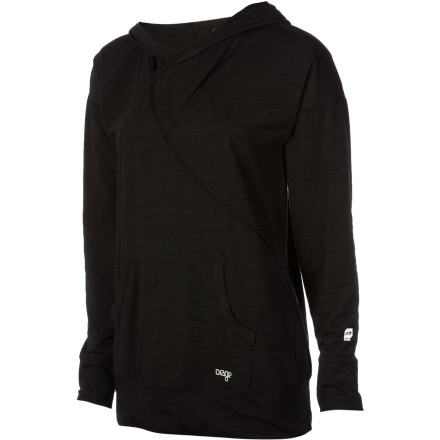 Ski Half-awake, you reach for the Orage Women's Charm Sweater, pull it over your head, and head downstairs to brew some coffee. Made with Fundation-Dry fabric, this cozy hooded pullover offers solid warmth and comfort while you tour, ski, ice skate, or hang with friends at the hockey game. - $49.47