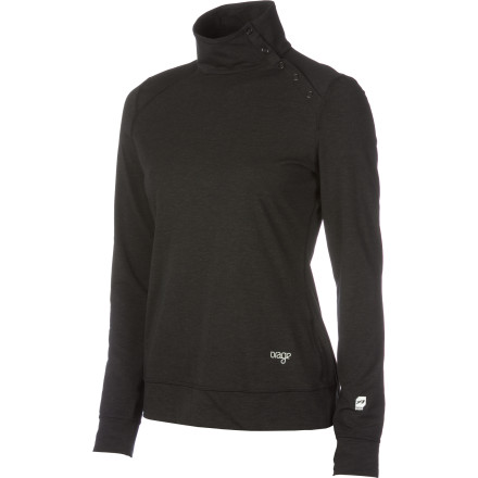 Entertainment Whether you're about to shred the slopes or catch a hockey game slip on the Orage Women's Element Sweater. Its Fundation Dry technology keeps you wickedly comfortable while you root for your favorite team or size up a small pillow line. - $43.97