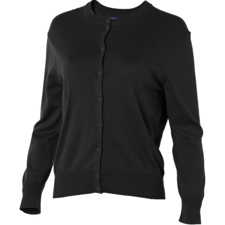 The incredibly soft Patagonia Women's Cotton Cardigan Sweater wraps you in sophisticated style while it keeps you warm on summer evenings when nighttime breezes offer cool relief from the hot days. - $39.50