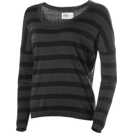 Surf How can you not love the Volcom Women's V.Co Loves Sweater' Its organic cotton fabric simply oozes eco-friendly, delicious vibes, and it feels super-comfy against your skin. - $30.22