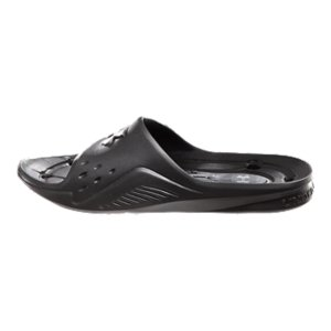 Entertainment One-piece performance molded EVA for lightweight durability.  Unique strap, footbed, and outsole designed to transport water away from the foot.  Imported. - $18.99