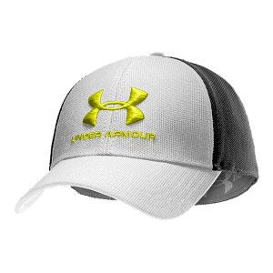 Fitness Structured build maintains shape with a slightly higher crown.  Stretch construction provides a comfortable fit.  Built-in HeatGear(R) sweatband wicks away sweat to keep you cool and dry.  Embroidered UA logo.  Polyester.  Imported. - $15.99