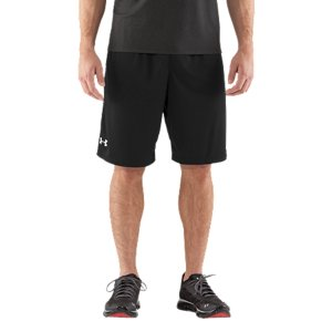 "Entertainment Lightweight, durable stretch materials let you move with extreme comfort.  Moisture Transport System wicks sweat away from the body.  Covered elastic waistband with internal drawcord.  Mesh hand pockets.  Inseam: 10"".  Polyester.  Imported. - $16.49"