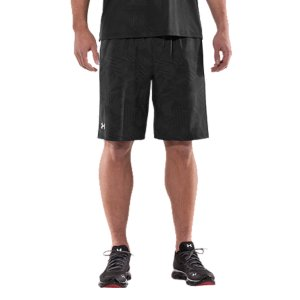 "Entertainment Lightweight, durable stretch materials let you move with extreme comfort.  Moisture Transport System wicks sweat away from the body.  Covered elastic waistband with internal drawcord.  Mesh hand pockets.  Inseam: 10"".  Polyester.  Imported. - $24.99"