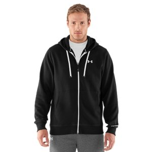 Fitness It's our Charged Cotton(R) Storm fleece, only lighter. The same quick-drying cotton, the same great feel, and the same UA Storm technology, so water will roll right off. Now it's just a better weight; either outerwear in the Spring or an extra layer in the Winter. UA Storm gear uses a DWR finish to repel water without sacrificing breathabilityCharged Cotton(R) has the comfort of cotton, but dries much fasterLightweight 230g fleece has a smooth outer and a soft, brushed inner to trap warmthMesh hood liner for added breathabilityDurable ribbed cuffs and hemHand pocketsCotton/PolyesterImported - $49.99