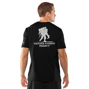 Fitness Our Wounded Warrior Project(TM) T-shirts are more than a nod to men and women in uniform-they help support the program and assist those who have sacrificed so much for our country. This T-shirt also performs. Charged Cotton(R) is natural cotton engineered to wick moisture and dry faster, keeping you cooler. This is an Official Wounded Warrior Project Licensed productBetween August 2012 and December 2014, Under Armour(R) will make a donation of over $1 Million to Wounded Warrior Project(TM) benefiting injured service members and their familiesLightweight Charged Cotton(R) has the comfort of cotton, but dries much fasterSignature Moisture Transport System wicks sweat away from the body Anti-odor technology prevents the growth of odor causing microbesDurable ribbed collar provides a comfortable fitCotton/PolyesterImported - $27.99